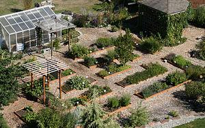 Bastyr University - Medicinal herb garden