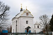 Dorotyshche Kovelskyi Volynska-Church of the Dormition-south-west view.jpg