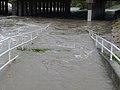 Downstream from Barker Reservoir after Hurricane Ike (2855252526).jpg
