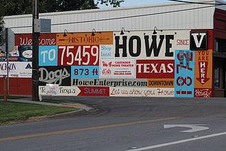 Howe, Texas - Downtown Howe