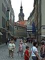 Drážďany, Altstadt, ulice Augustusstrasse.jpg