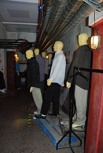 Rose (Doctor Who) - The Autons, shown here at the Doctor Who Experience