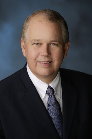 Billy Wilson (academic) - Official Portrait for Oral Roberts University