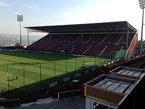 Stadionul Dr. Constantin Rădulescu - Image: Dr Constantin Radulescu Stadium (8122834291)