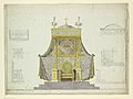 Drawing, Archbishop's Throne and Canopy; Six Separate Studies for a Throne, Prie-Dieu, and Canopy, 1808 (CH 18382595).jpg