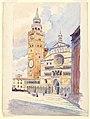 Drawing, Duomo, Cremona, 1904 (CH 18478193).jpg