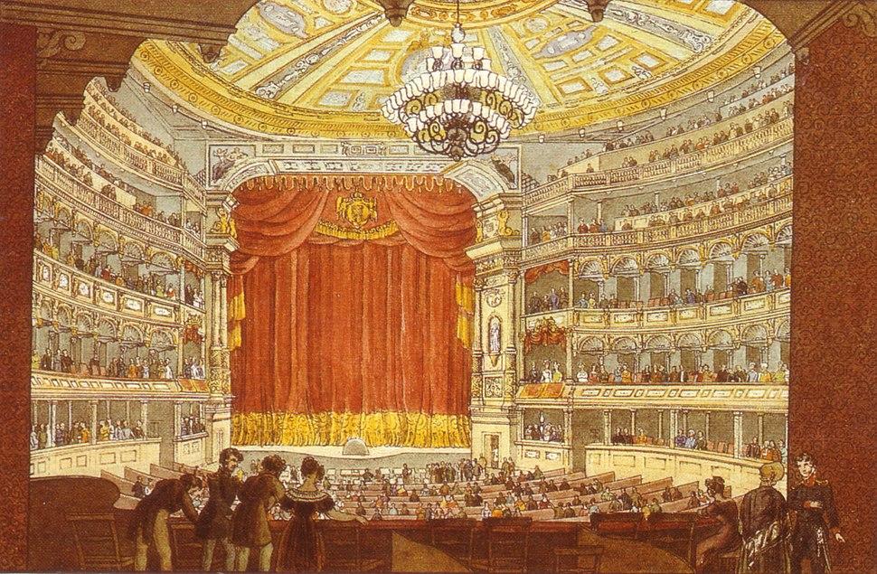 Dresden Hoftheater J C A Richter