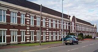 Ward End area of Birmingham, England