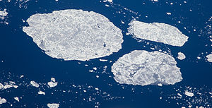Hudson Strait - Drift ice in Hudson Strait, late June 2014
