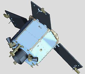 DubaiSat-1 - An artist rendering of DubaiSat-1