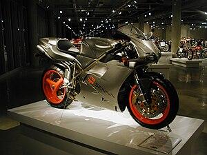 Ducati 916 - Ducati 916 Senna (special edition aimed to benefit Instituto Ayrton Senna)