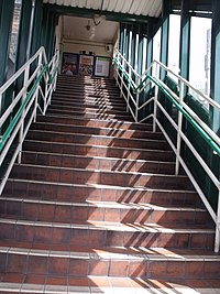 Duddeston Station - stairs (7264338056)