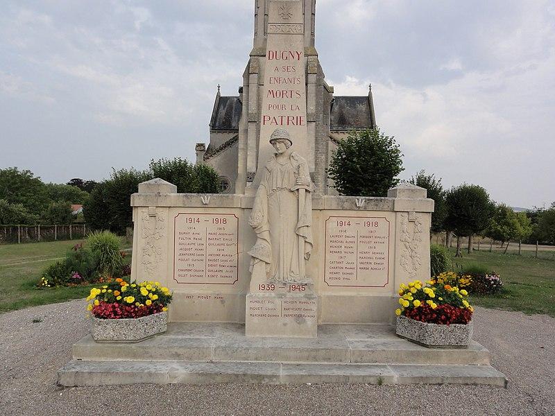 Dugny-sur-Meuse (Meuse) monument aux morts