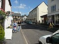 Dulverton , Bridge Street and Cyclists - geograph.org.uk - 1493954.jpg