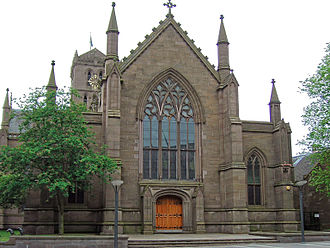 City Centre, Dundee - Dundee Parish Church, St Mary's is one of two of the city's City Churches