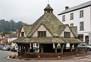 Yarn Market, Dunster Grade I listed building in West Somerset, United Kingdom