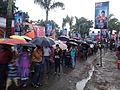 Durga Puja Spectators - Baghbazar Sarbojanin Durgotsav - Nivedita Park - Kolkata 2013-10-13 01823.jpg