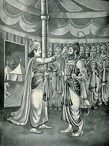 Duryodhana choose Dronacharya as commander in chief. jpgg.jpg