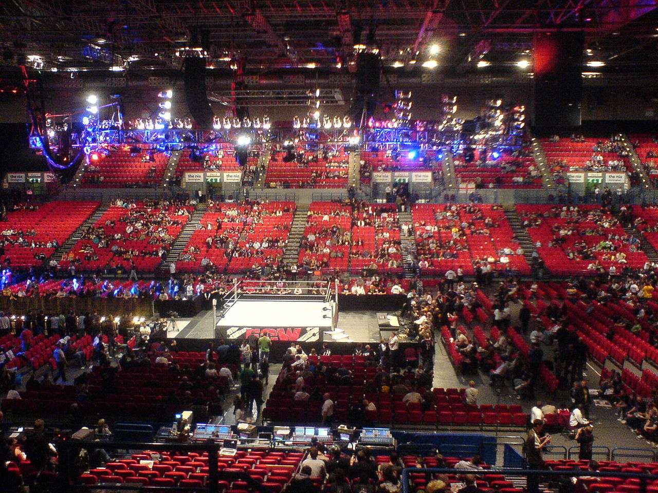 File:ECW 16th October 2007 NIA UKJPG  Wikimedia Commons - Rod Laver Arena Floor Plan