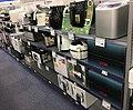 ELKJØP (consumer electronics retailer) husholdningsprodukter frityrgryte (airfryer) - supermarket interior shelves aisles - Tønsberg Norway 2017-11-02.jpg