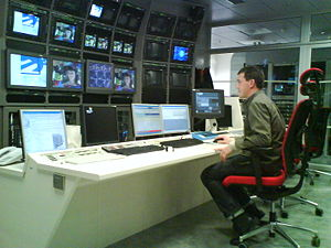 ETB 1 - EiTB's television channels control room in Bilbao