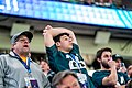 Eagles fans watch the final minutes of Super Bowl LII, Minneapolis MN (39408039204).jpg