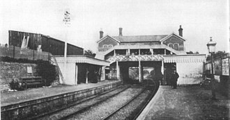 East Grinstead railway station - 1866 station