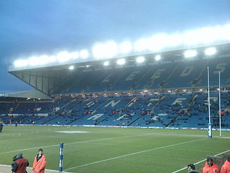 1994 Kangaroo tour of Great Britain and France - Image: East Stand at Elland Road prior to the 2010 World Club Challenge