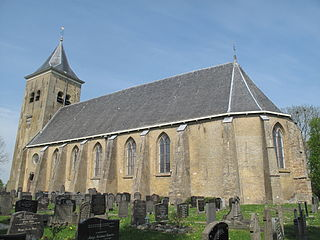 Easterein Village in Friesland, Netherlands