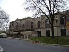 Easton Area Public Library in Easton PA