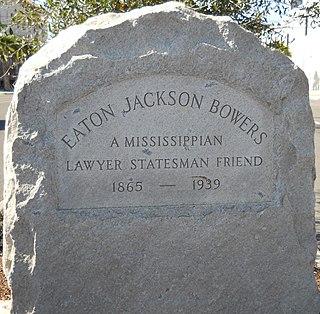 Eaton J. Bowers American politician