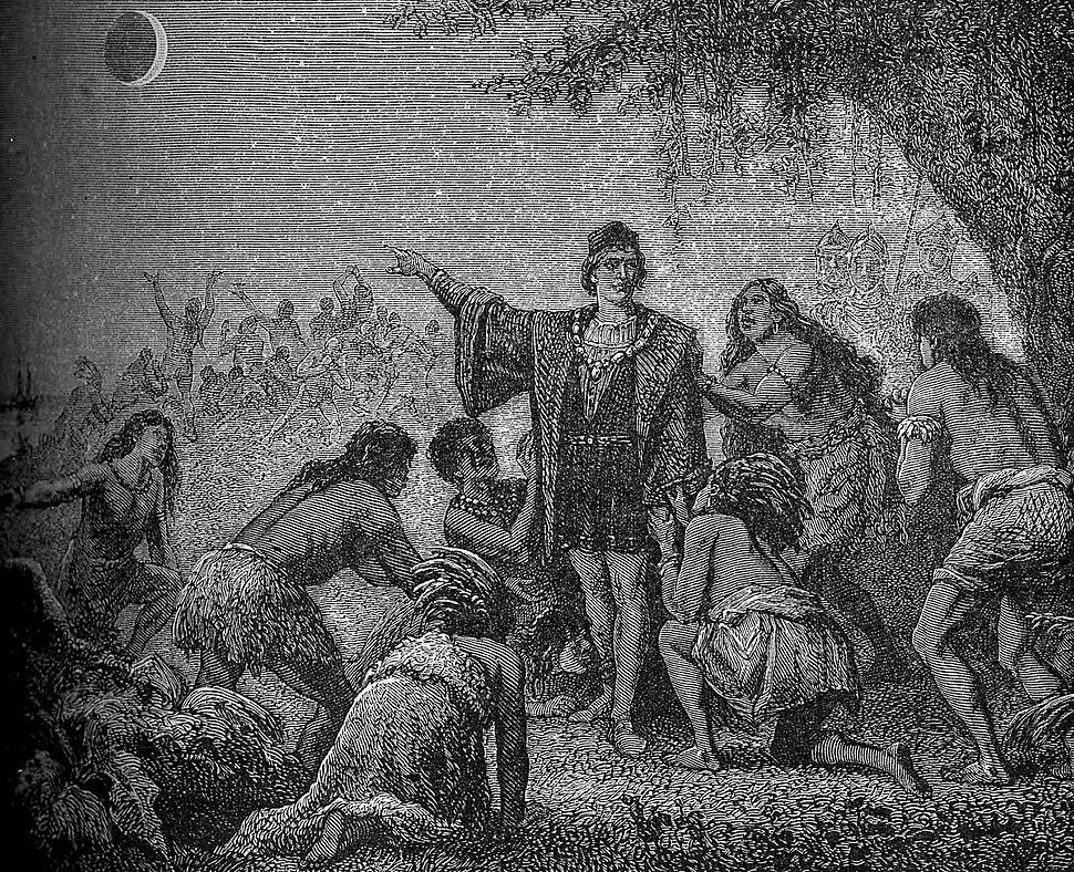 Eclipse Christophe Colomb