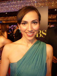 Eden Riegel på Daytime Emmy Awards 2010.