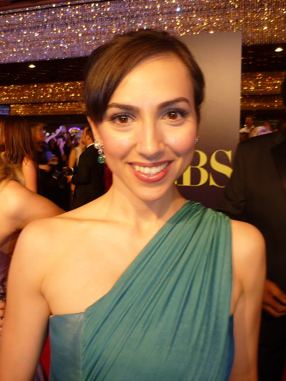 Eden Riegel 2010 Daytime Emmy Awards