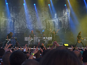Edguy - Edguy at Kavarna Rock Fest 2009.
