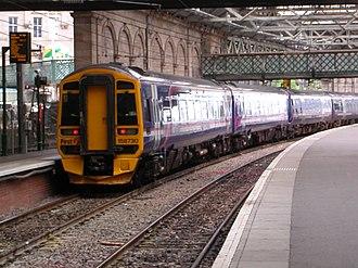 Urban rail in the United Kingdom - Edinburgh commuter train