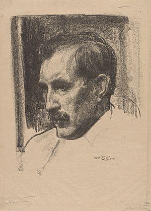 Edmond Thomas Quinn - Edmond T. Quinn (1915) by Albert Sterner