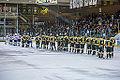 Edmonton Oilers Rookies vs UofA Golden Bears (15088804727).jpg