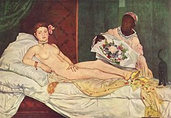 La solitude des peintes - Olympia - Manet dans L'humeur d'Edouard 250px-Edouard_Manet_038