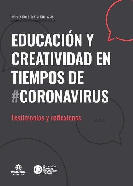 File:Educación y Creatividad en Tiempos de Coronavirus. Testimonios y Reflexiones.pdf