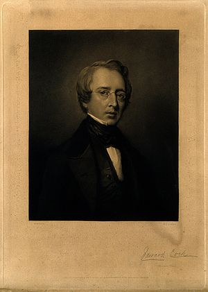 Edward Cock - Early portrait of Edward Cock