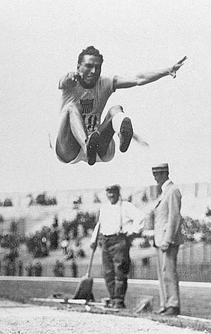 Edward Gourdin - Edward Gourdin at the 1924 Olympics