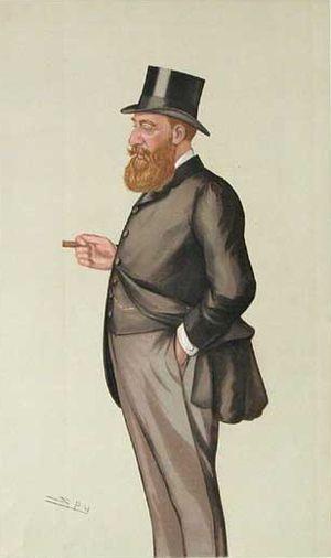 Edward King-Harman - Image: Edward Robert King Harman Vanity Fair 9 January 1886