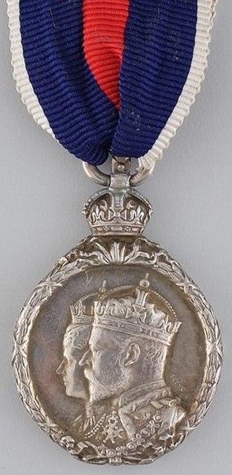 King Edward VII Coronation Medal - Image: Edward VII Coronation Medal obverse