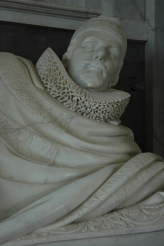 "Thomas Coventry, 1st Baron Coventry - Thomas Coventry (effigy pictured) was remembered by Edward Hyde as ""rather exceedingly liked than passionately loved""."