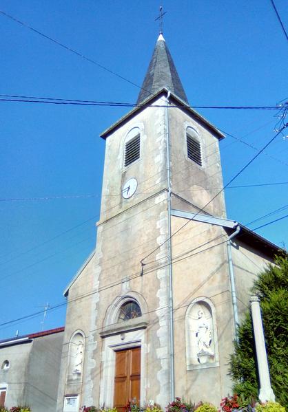église Sainte Libraire d'Hammeville