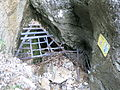 Einstieg in die Rettenbachhöhle.JPG
