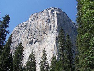 El Capitan - El Capitan from Northside Drive