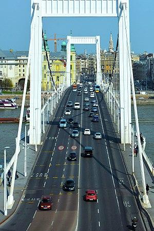 Elisabeth Bridge (Budapest) - The bridge in 2017