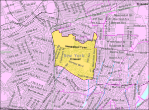 Elmont, New York - U.S. Census Map